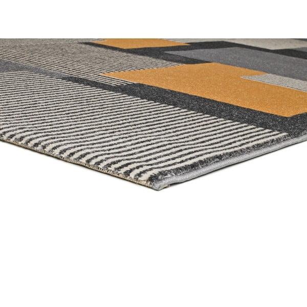 Covor gri Universal Leo Square, 80 x 150 cm