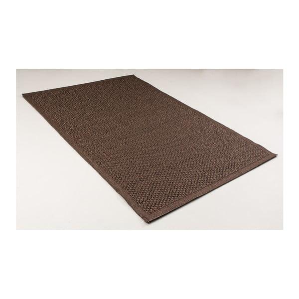 Tmavě hnědý koberec vhodný do exteriéru Casa Natural Cao, 230 x 150 cm