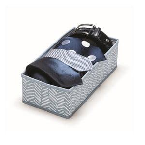 Modrý úložný box Cosatto Tweed, délka28cm