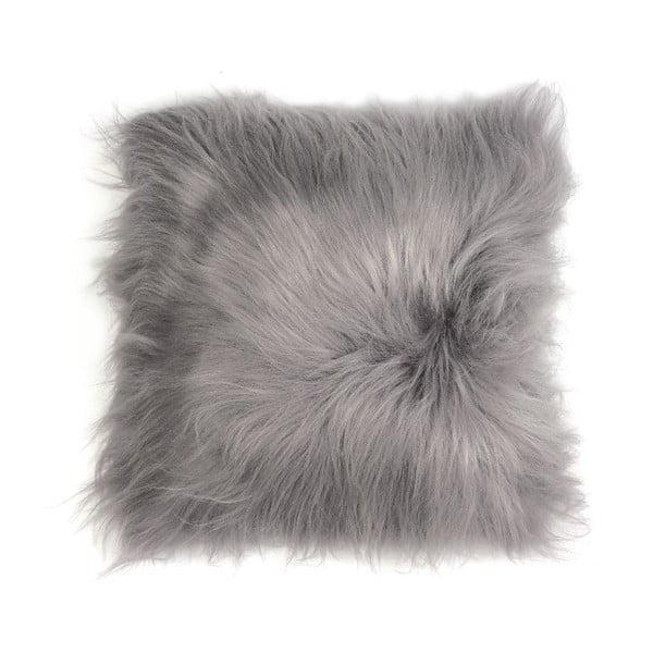 Kožešinový polštář Iceland Frost, 35x35 cm