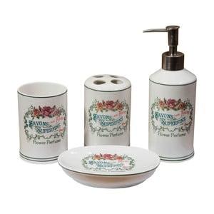 4dílný set koupelnových doplňků Crido Consulting Spa
