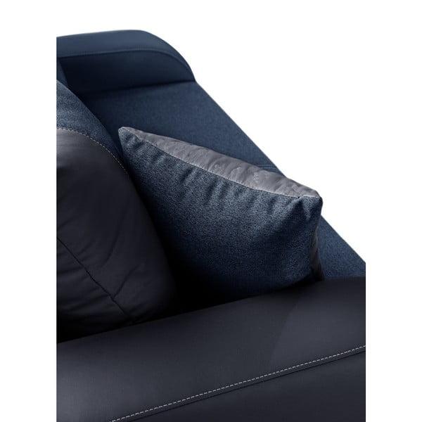 Canapea cu 2 locuri INTERIEUR DE FAMILLE PARIS Destin, albastru închis