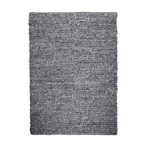 Ručně vyráběný koberec The Rug Republic Zanos Charcoal, 160 x 230 cm