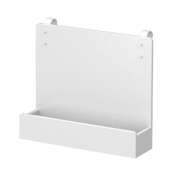 Białe półka do łóżka dziecięcego Flexa White