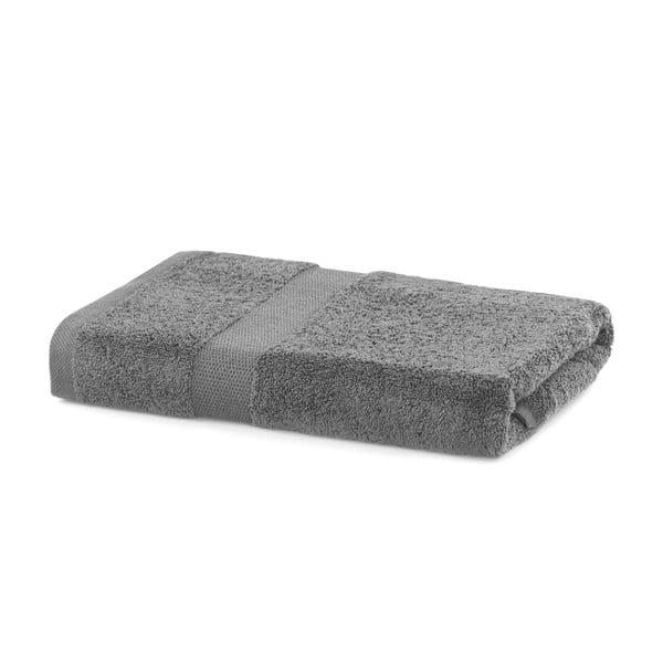 Szary ręcznik DecoKing Marina, 70x140 cm