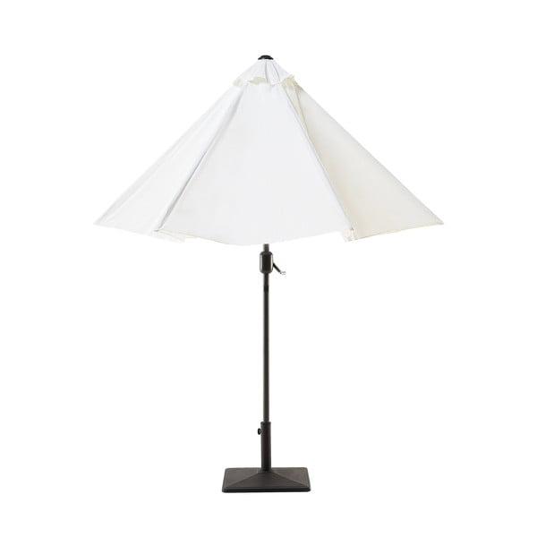 Umbrelă de grădină Monobeli Sahara, alb