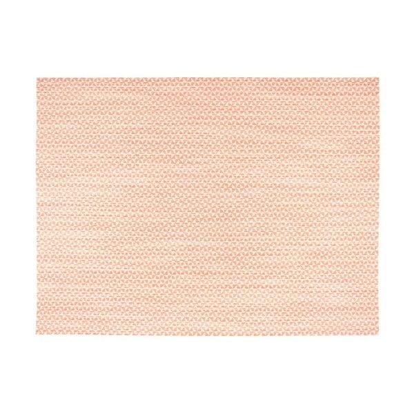 Jasnopomarańczowa mata stołowa Tiseco Home Studio Melange Triangle, 30x45 cm