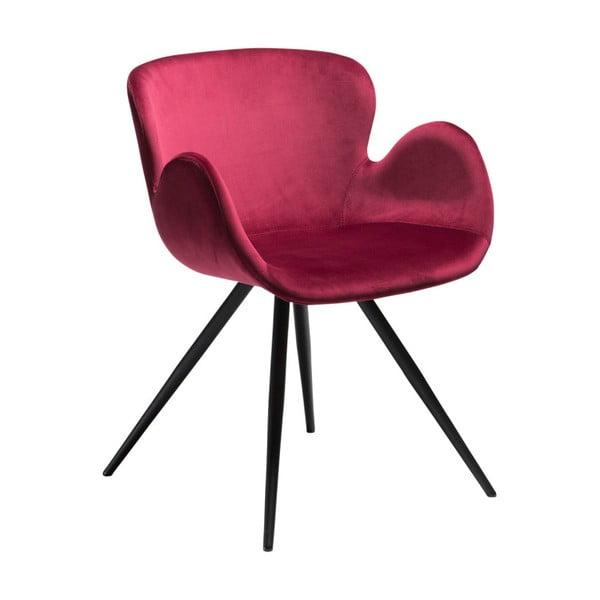 Ciemnoróżowe krzesło DAN-FORM Denmark Gaia