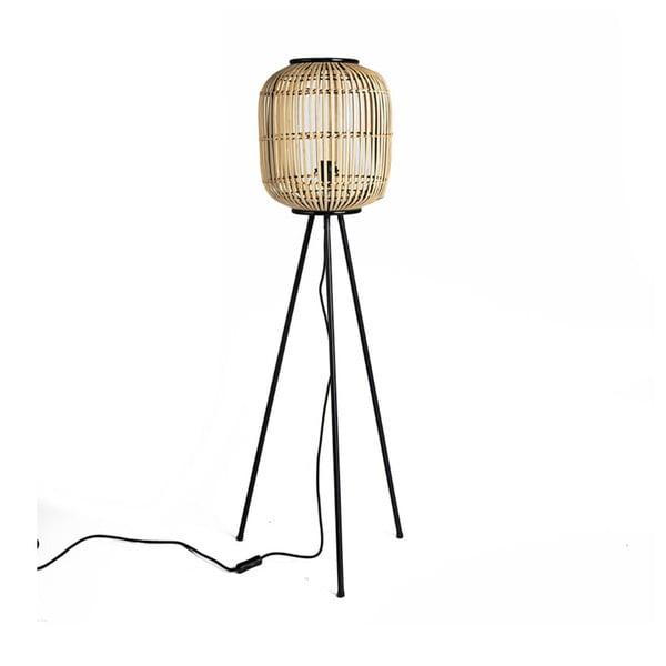 Natural állólámpa bambusz búrával, magasság 116 cm - Simla
