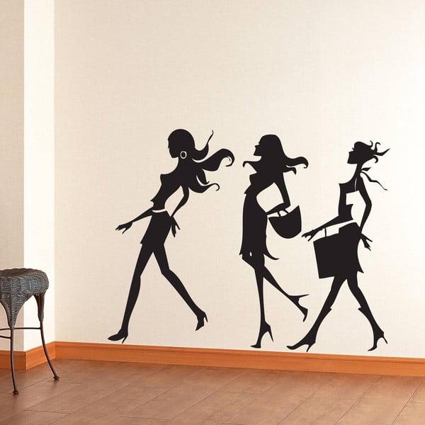 Vinylová samolepka na stěnu Na nákupech