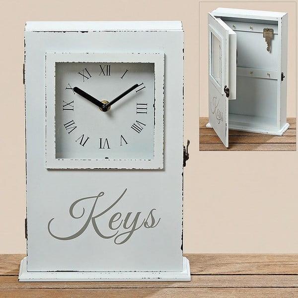 Skříňka na klíče Clock