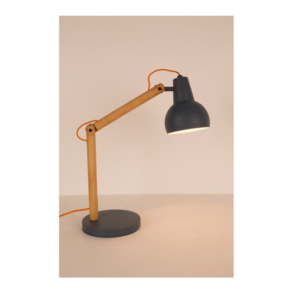 Šedá stolní lampa Zuiver Study