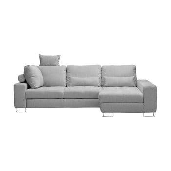 Canapea colţar Windsor & Co Sofas Alpha, partea dreaptă, gri deschis de la Windsor & Co Sofas