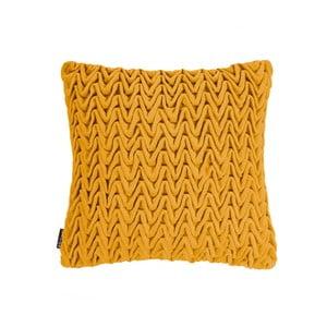 Pernă ZicZac Waves, 45 x 45 cm, galben