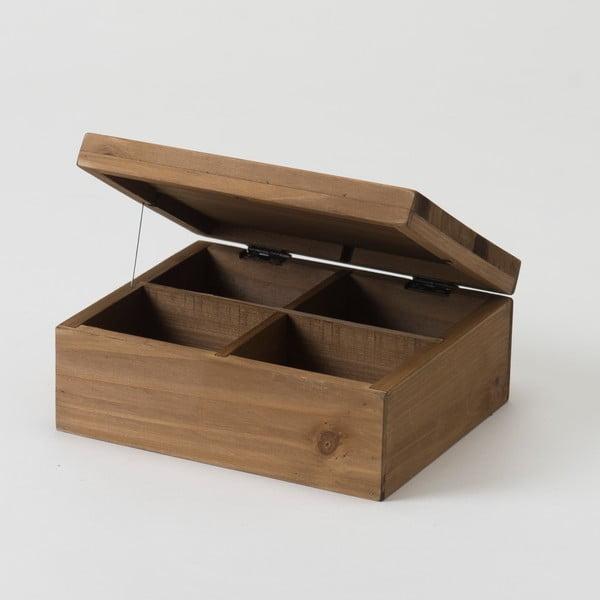 Pojemnik z drewna jodłowego Compactor Vintage Box, szer. 18,2 cm
