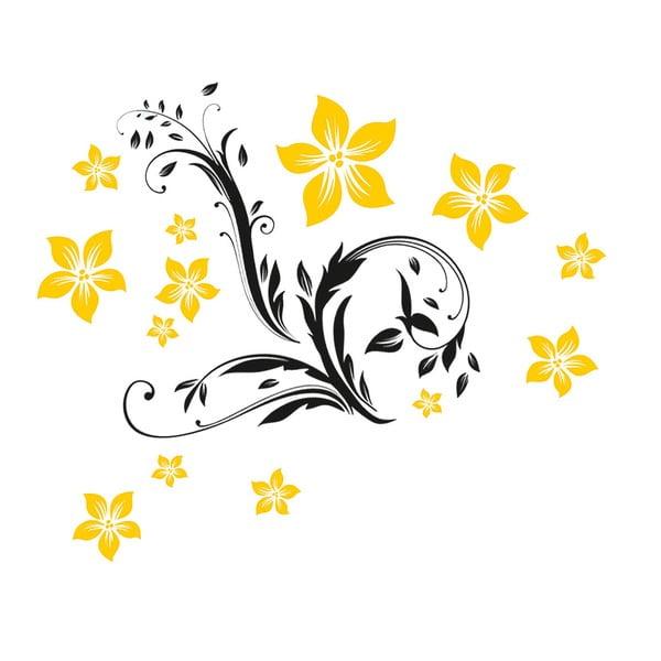 Samolepka Floral Ornament