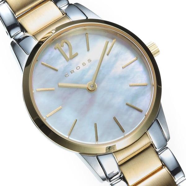 Dámské hodinky Cross Franklin White Ionic, 27 mm