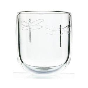 Pahar din sticlă La Rochère Libellules, 280 ml