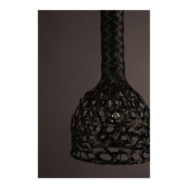 Černé závěsné svítidlo Dutchbone Boo