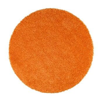 Covor rotund Universal Aqua Liso, ø 100 cm, portocaliu imagine