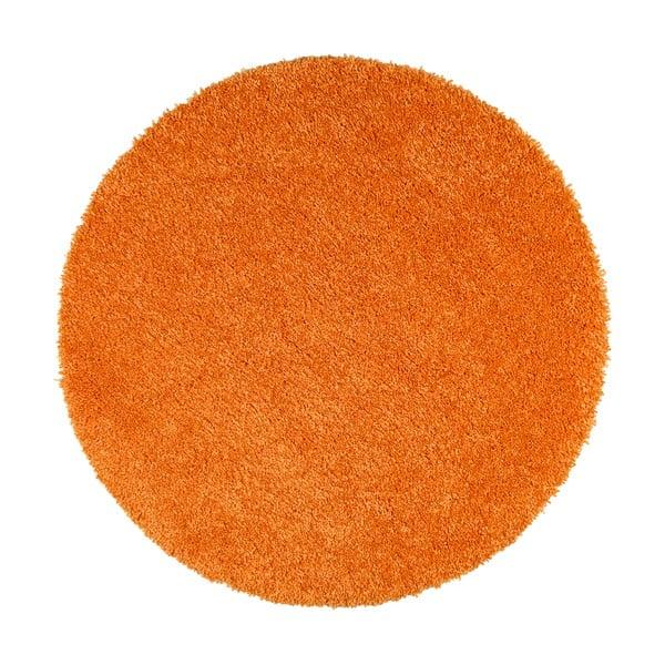 Oranžový koberec Universal Aqua Liso, ø100cm