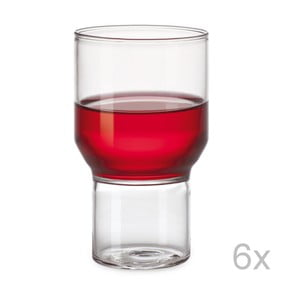 Sada 6 sklenic Double Trouble