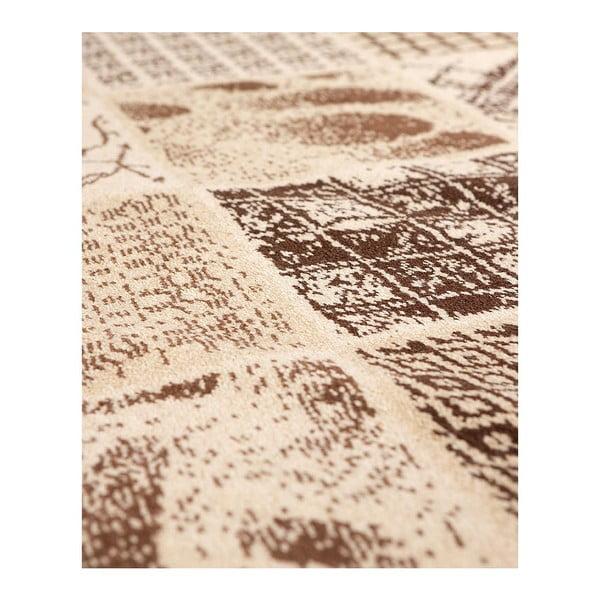 Vlněný koberec Coimbra 183 Marron, 120x180 cm