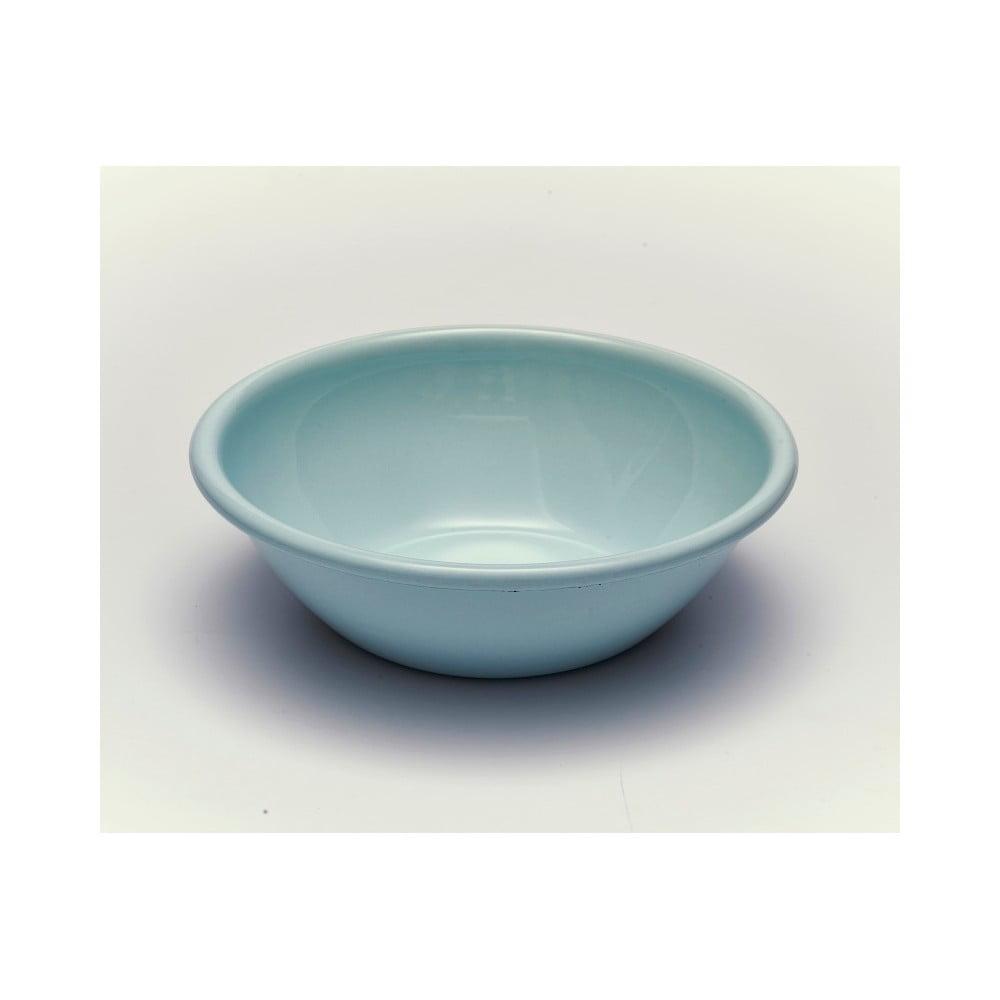 Modrá smaltovaná miska Kapka Back To Basics, Ø19cm
