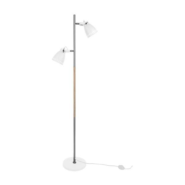 Bílá volně stojící lampa Leitmotiv Mingle