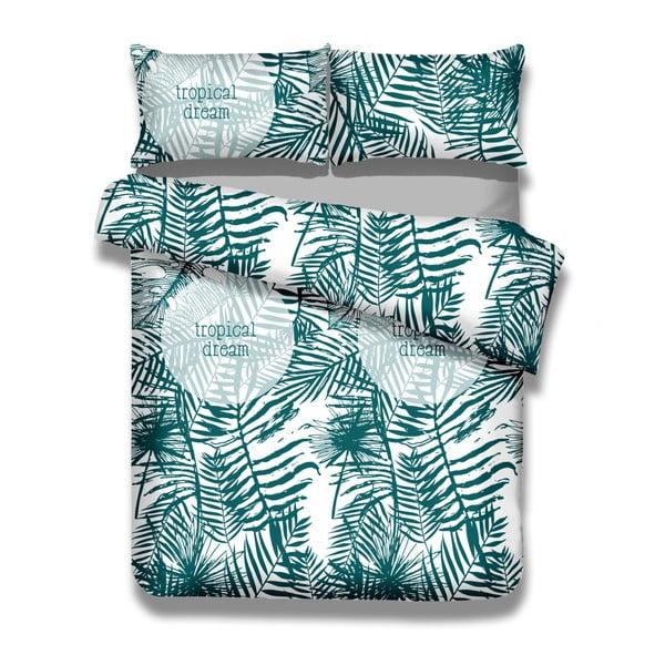 Sada bavlnenej obliečky na perinu a obliečky na vankúš AmeliaHome Averi Bush, 140 × 200 cm + 50 × 75 cm