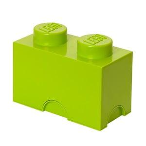 Úložné Lego, limetkové