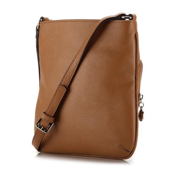 Kožená kabelka Elegance Case Honey