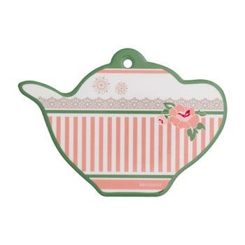 Farfurioară din ceramică pentru pliculețele de ceai Brandani Peony de la Brandani