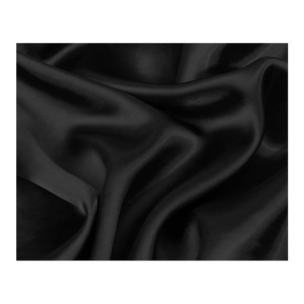 Černý povlak na polštář z mikroperkálu Sleeptime Skin Care,60x70cm