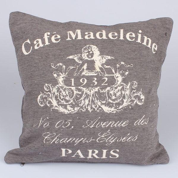 Povlak na polštář Café Paris, béžový