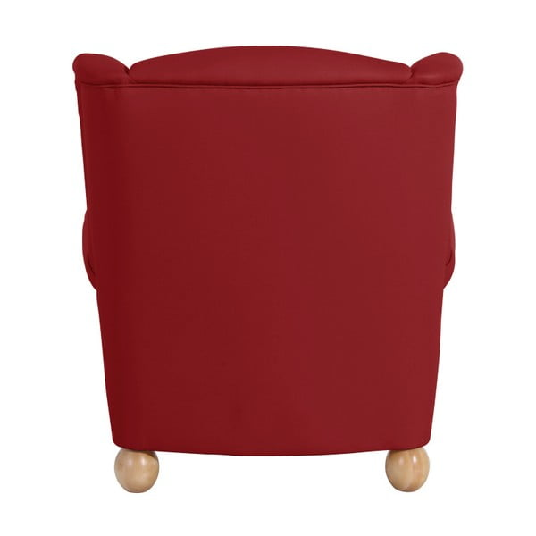 Červené křeslo ušák Max Winzer Monarch Chili
