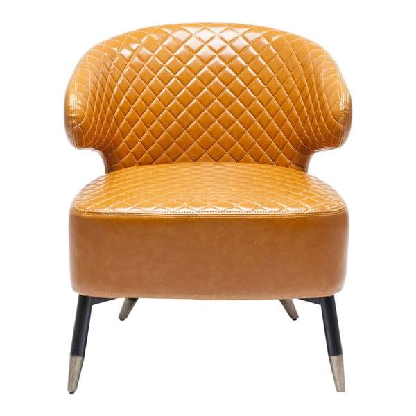 Oranžové křeslo Kare Design Session