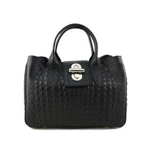 Černá kabelka z pravé kůže GIANRO' Slumber
