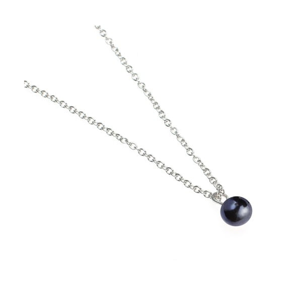 Řetízek s modrou perlou od Lucie Markové
