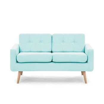 Canapea pentru 2 persoane Vivonita Ina, albastru pastel de la Vivonita