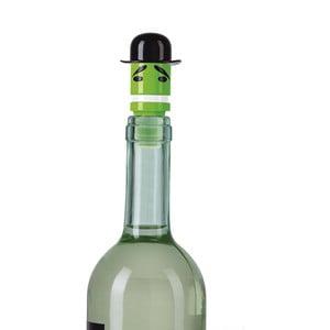 Dop pentru sticle de vin e-my Sir Bowler Hat, verde