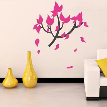 Autocolant decorativ pentru perete Pink Tree de la Unknown