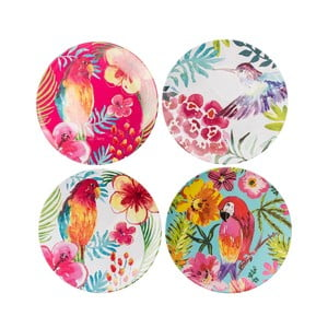Sada 4 plastových talířů Navigate Color