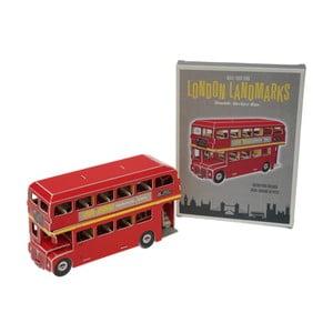 Papírová skládačka londýnského autobusu Rex London Routemaster