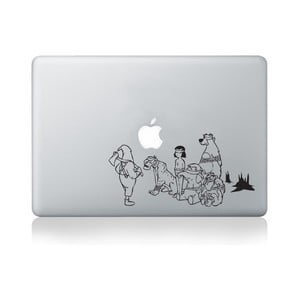 Samolepka na notebook Jungle Book by Banksy