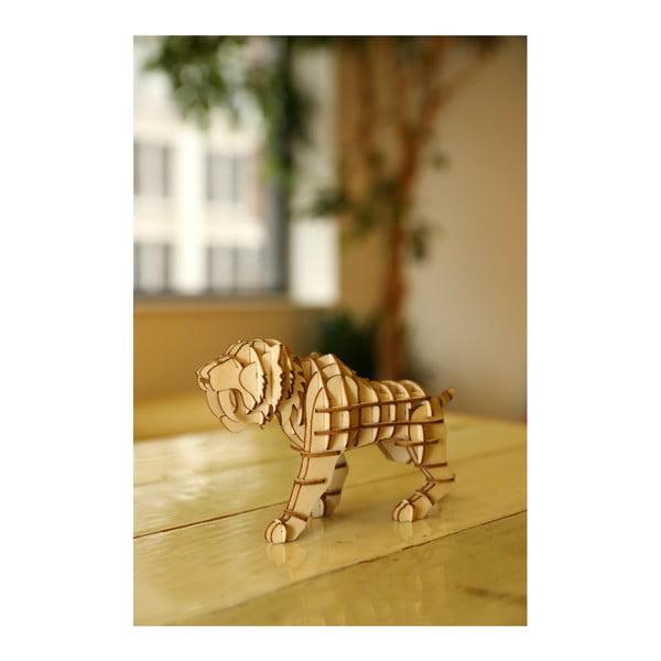 3D puzzle z balzového dřeva Kikkerland Tiger
