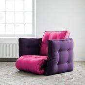 Rozkládací křesílko Karup Dice Pink/Purple