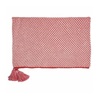 Pătură Green Gate Dot, 130 x 180 cm, roșu