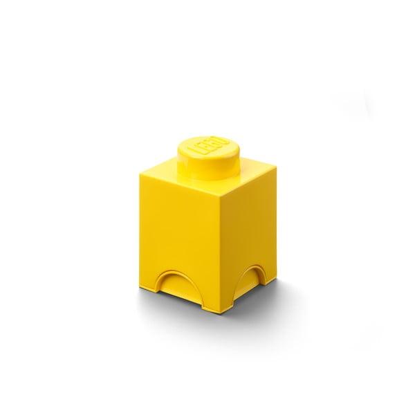 Žlutý úložný box LEGO®