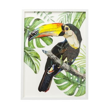 Tablou Kare Design Paradise Single Bird, 70x50cm